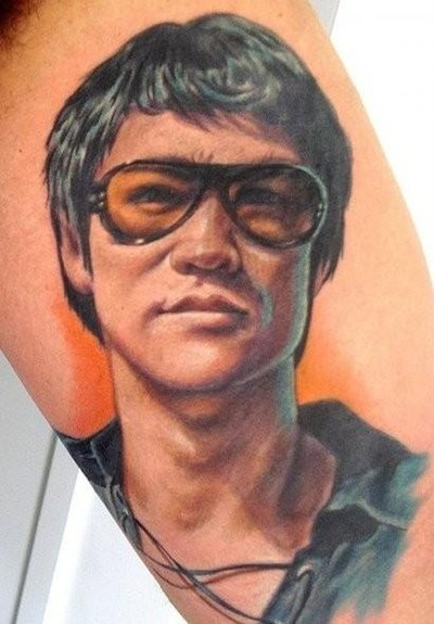 Sam Clark - Bruce lee Tattoo