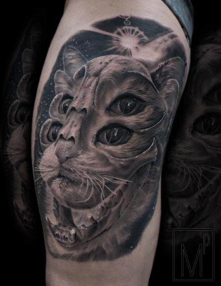 Tattoos - ethereal cat - 133203