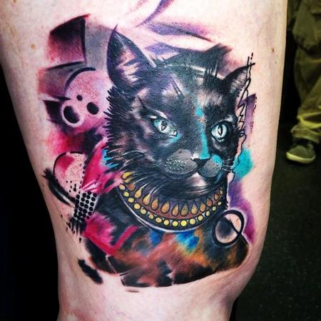 Tattoos - Abstract Cat - 108937