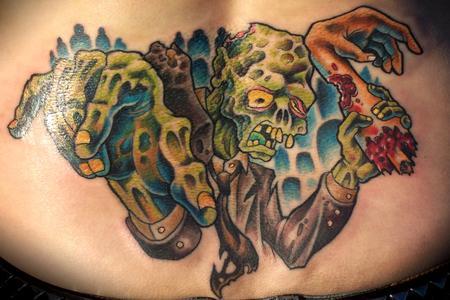 Tattoos - Zombie Tramp Stamp - 75102