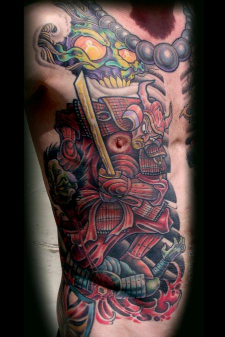 Tattoos - Samurai ghost - 75101