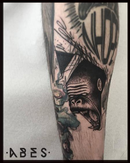 Tattoos - gorilla filler - 119872