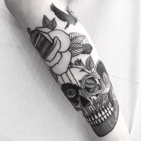 Tattoos - strange dream - 129233
