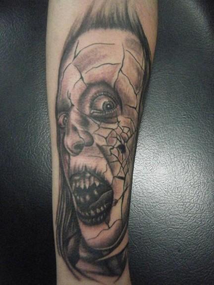 Tattoos - Horror face  - 51762