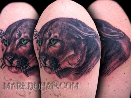 Tattoos - COUGAR - 59803