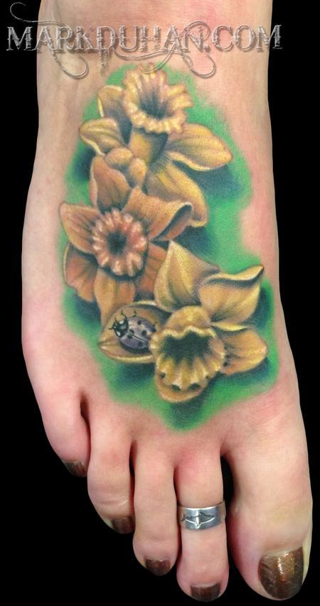 Tattoos - DAFFODILS - 73906
