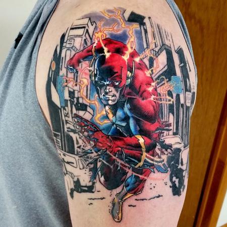 Tattoos - THE FLASH - 100933