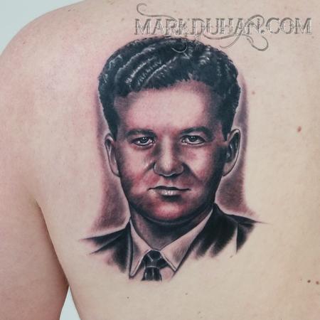 Tattoos - OLD PORTRAIT - 100932