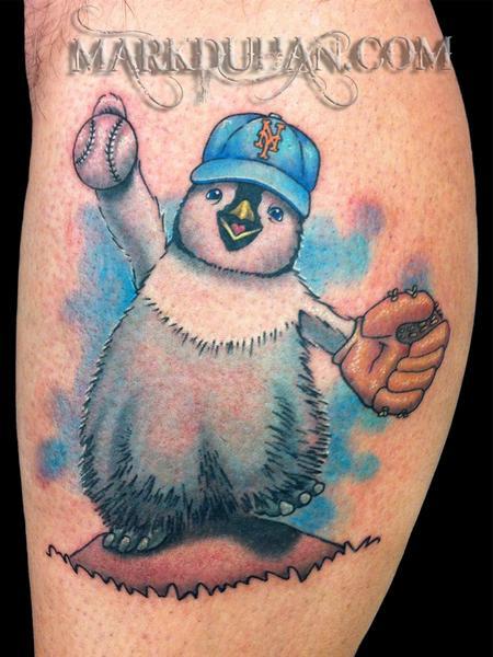 Tattoos - HAPPY FEET - 59804