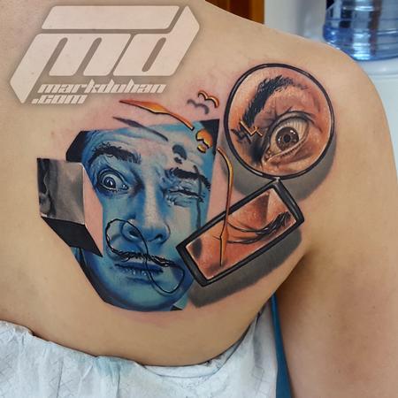 Tattoos - SALVADOR DALI - 110165