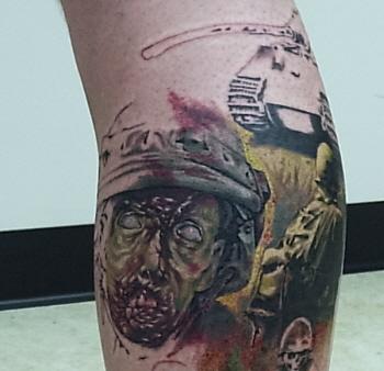 Tattoos - dan plumley work in progress - 18261