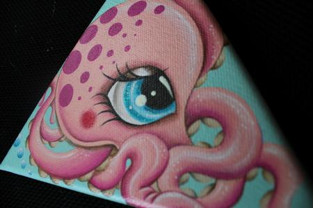 Jordana Hawen - Pink octopus