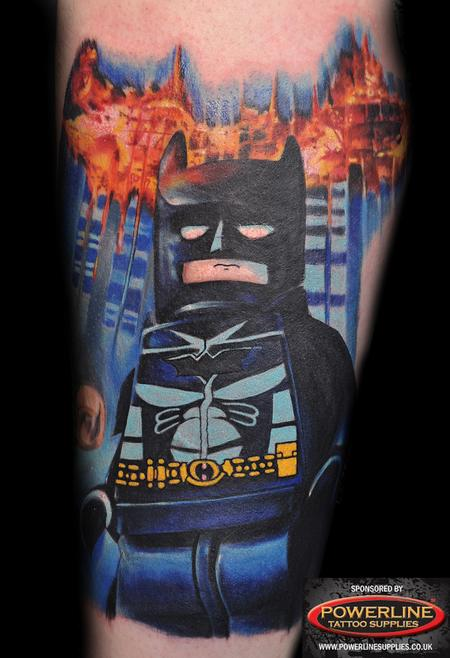 Tattoos - Lego Batman - 98930