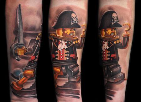 Tattoos - Lego Pirate - 107998