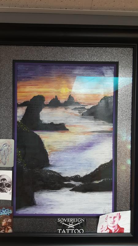 Cameron Scott - Sunset on the Sea