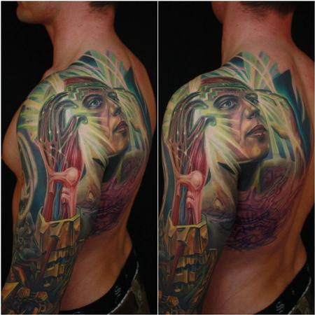 Tattoos - Lifestory at a psychedelic perspective  - 98634