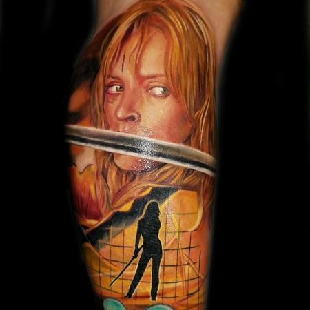 Tattoos - Beatrix kiddo  - 122702