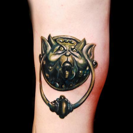Tattoos - knocker  - 115508