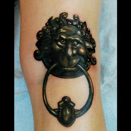 Tattoos - knocker  - 115507