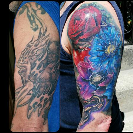 Tattoos - fully healed cover up - 116886