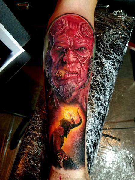 Tattoos - HellBoy - 122864