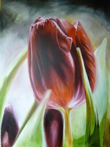 Damon Conklin - Rose Painting