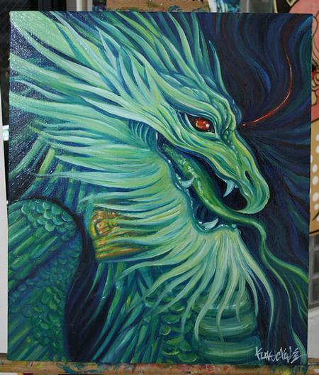 Knuckle - Blue wybern