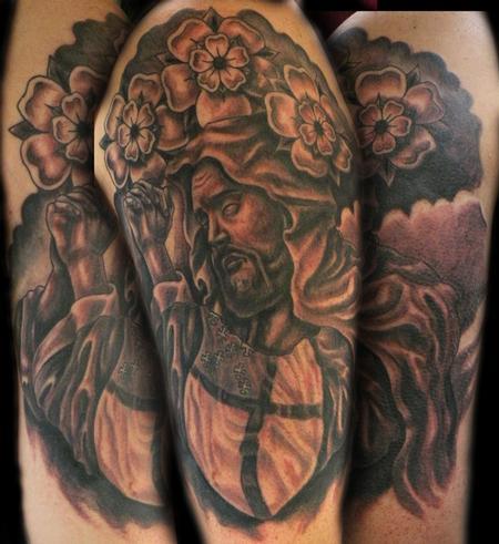Tattoos - saint tattoo - 63217