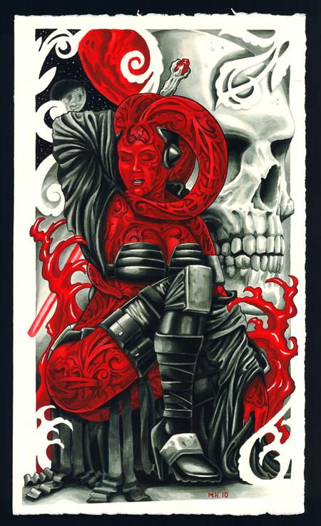 Mathew Hays - Darth Talon, star wars legacy