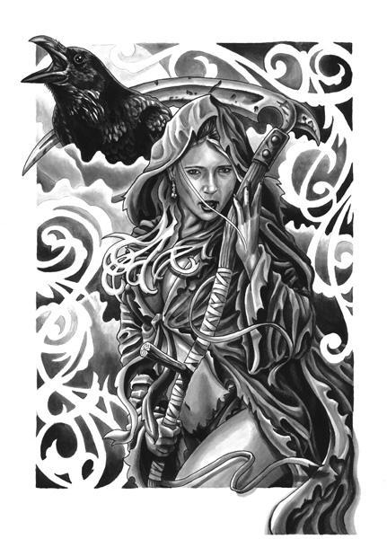 Mathew Hays - female reaper