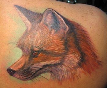 Tattoos - Fox Tattoo - 29546
