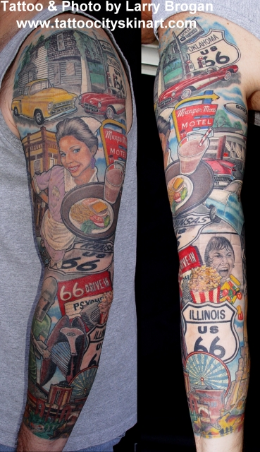 Tattoos - The Mother Road - 7657