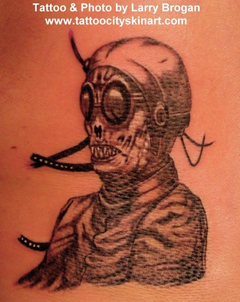 Tattoos - Alien Dude - 15887