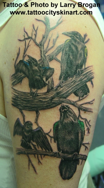 Tattoos - Learning to fly - 14129