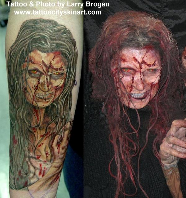 Tattoos - Jovanka the Zombie - 12210
