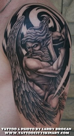 Tattoos - Angel from above - 47951