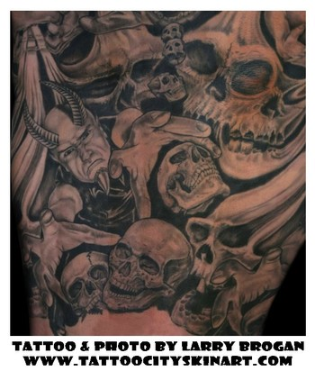Tattoos - Demon Sleeve part 1 - 35621