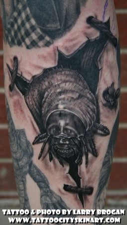 Tattoos - Creepy Bug - 47187