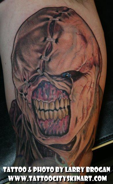Larry Brogan - Nemesis from Resident Evil