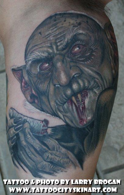 Larry Brogan - Nosferatu loves blood