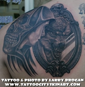 Tattoos - Of Wolf and Man - 47952
