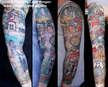 Tattoos - Route 66 - 7658