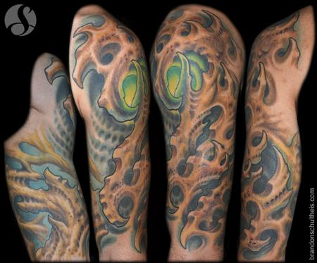 Tattoos - Bio Organic Half Sleeve - 95844