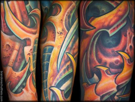 Tattoos - Bio Organic Sleeve Details - 75421