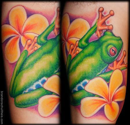 Tattoos - Tree Frog Tattoo - 59840