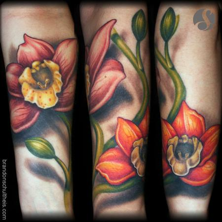 Tattoos - Orchid Tattoo - 79242