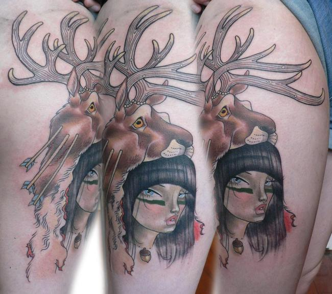 Tattoos - Hunter Tattoo - 53267