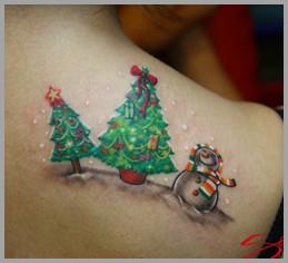 SangLee Kang - Christmas Tattoo