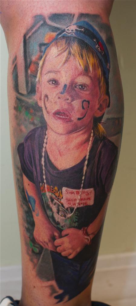Tattoos - Color child portrait - 59982
