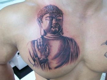 Tattoos - Buddha Tattoo - 49317